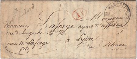 Courrier de 1842