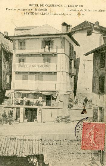 Hôtel du Commerce à Seyne-les-Alpes