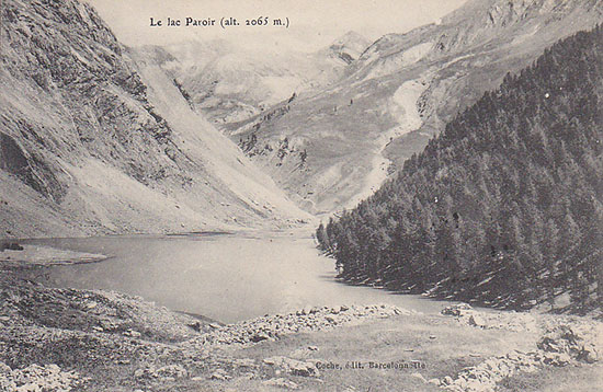 Coche lac Paroir