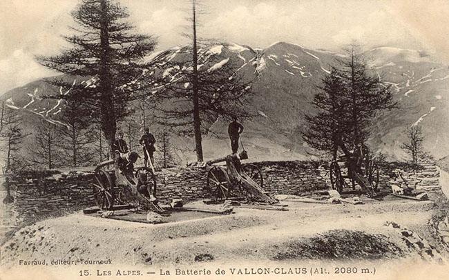 Batterie de Vallon-Claus