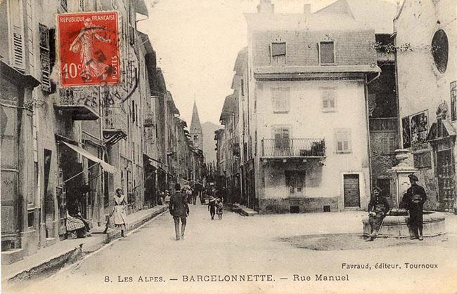 Barcelonnette Rue Manuel