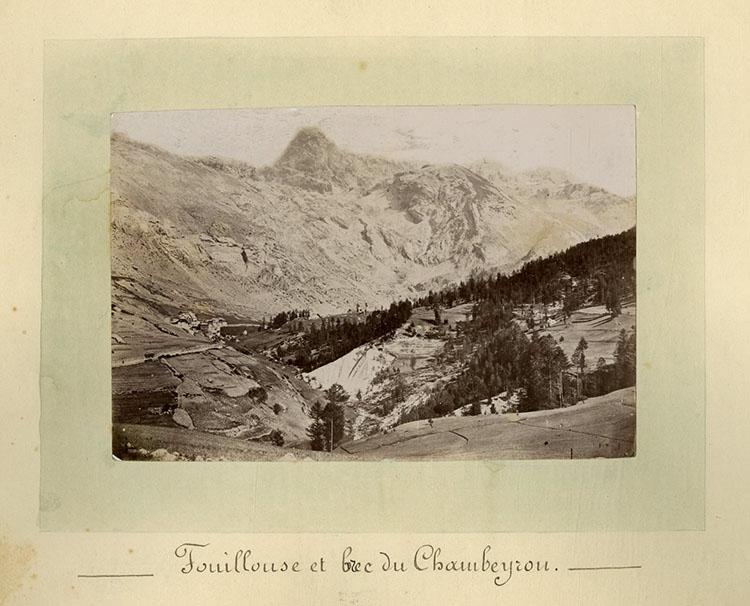 Fouillouse et le Brec du Chambeyron