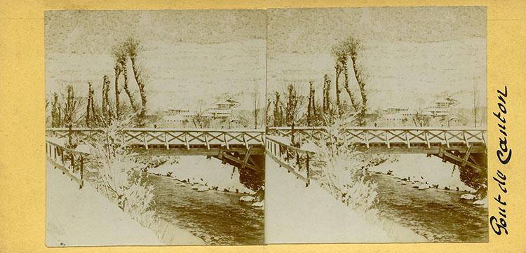Le pont du Canton à Jausiers