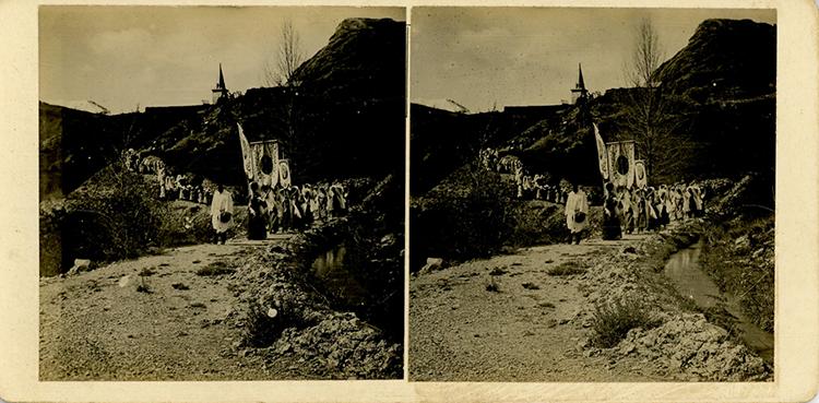 Procession de la Fête-Dieu à Jausiers