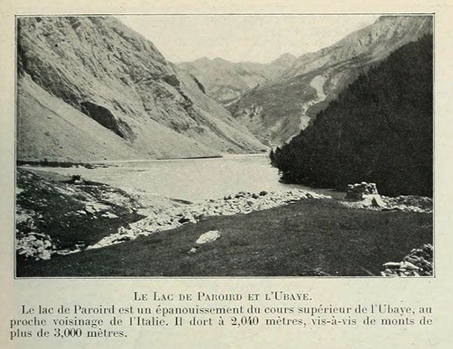 Le Lac de Paroird