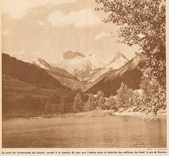 Le Lac du Lauzet