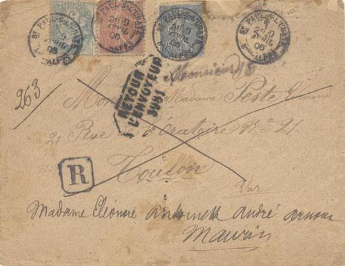 Courrier de 1906