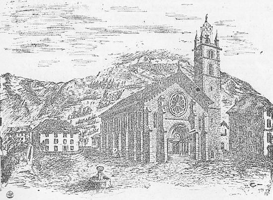 projet de la future église de Barcelonnette