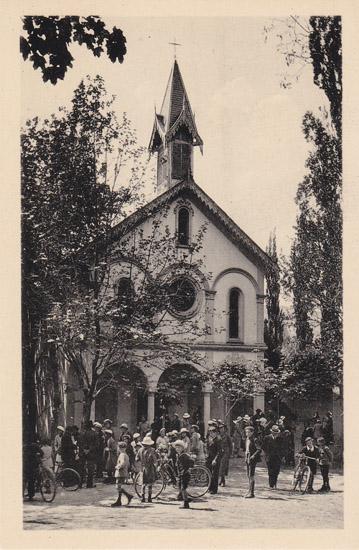 Jausiers, les Davids, chapelle Notre-Dame de la Salette