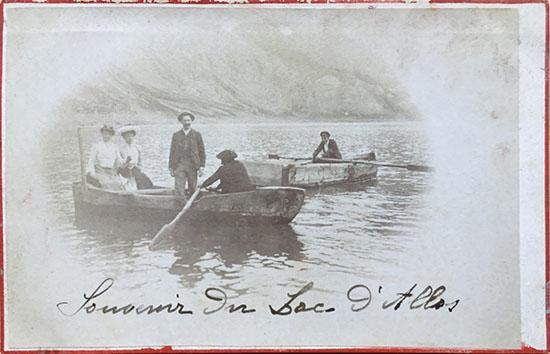 Souvenir du lac d'Allos