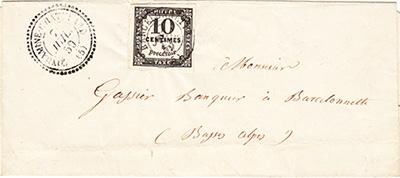 Courrier de 1859